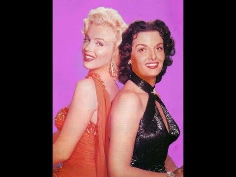 "Marilyn Monroe In ""Gentlemen Prefer Blondes"" - Interview ""I Couldn't Get A Dressing Room"""