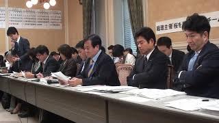 YouTube動画:第4回総理主催「桜を見る会」追及チーム 令和元年11月18日