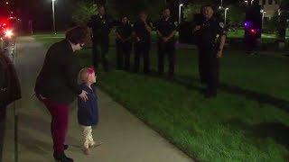 Police escort 5-year-old with cancer to chemotherapy treatment