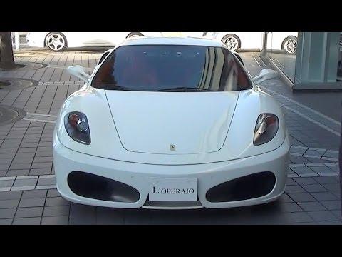 輸入中古車販売専門店ロペライオの試乗インプレッション、第50回はフェラーリ F430 F1に試乗! 男たるもの一度は乗りたいフェラーリ!スポーツ...