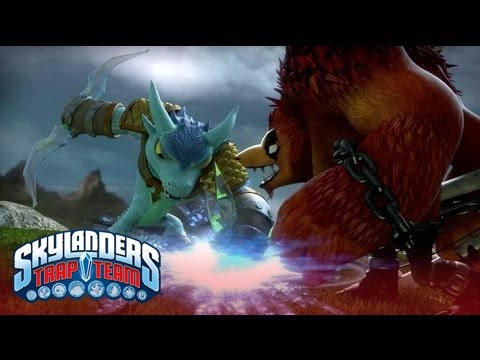 "Official Skylanders Trap Team: ""The Discovery"" Trailer l Skylanders Trap Team l Skylanders"
