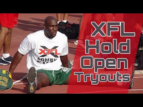 Xfl Tryouts And Summer Showcase Youtube