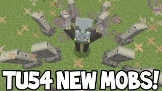 Minecraft (Xbox360/PS3) - TU54 Update! - ALL NEW MOBS! Explained