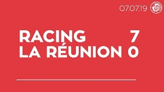 Racing-Sélection de la Réunion (7-0) : le résumé