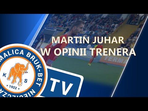 Martin Juhar w opinii trenera