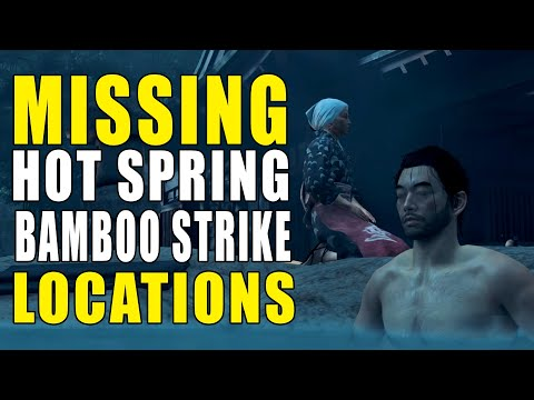 Ghost of Tsushima Missing Hot Spring & Bamboo Strike Locations   Where To Find   GameClubz
