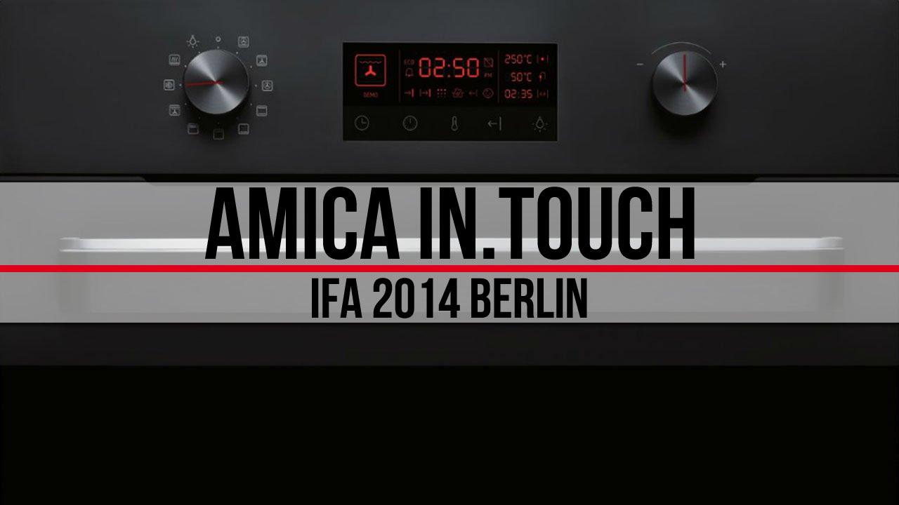 Amica In Touch  kuchnia kontrolowana smartfonem (IFA 2014   -> Kuchnia Gazowa Amica Supernova