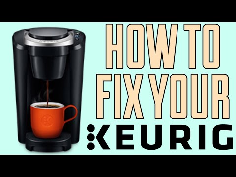 2019 HOW TO FIX MY KEURIG COMPACT COFFEE MAKER | All the lights are on / flashing | QUICK FIX!