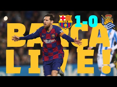 ⚽Barça - Real Sociedad | BARÇA LIVE: Warm Up & Match Center #BarcaRealSociedad