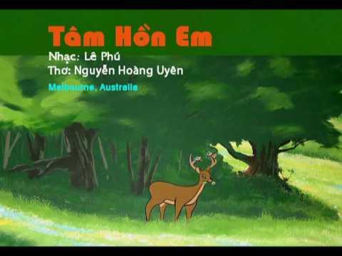 Tâm Hồn Em  - Lê Phú (Nhạc thiếu nhi)