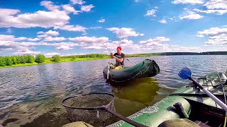 Зверина завязывает спиннинг в узел! Трофейная РЫБАЛКА на живописном озере. Развязка!