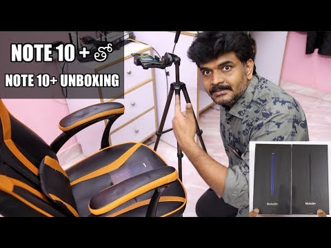 Samsung Galaxy Note 10 Plus Unboxing With Note 10 Plus ll in Telugu ll