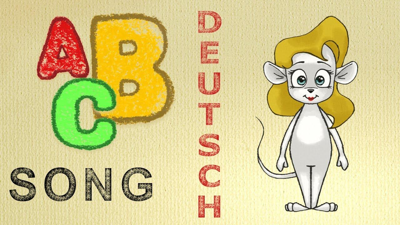 ABC-Lied Deutsch - Alphabet lernen durch Mitsingen. Lernspiel ...