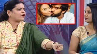 Karate Kalyani Uncontrolled Emotion In LIVE Deb...