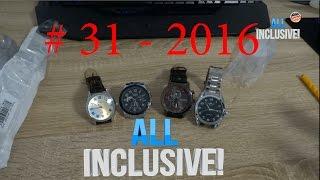 Розпакування посилок з Aliexpress # 31 - 2016 Годинник Тік Так :-)