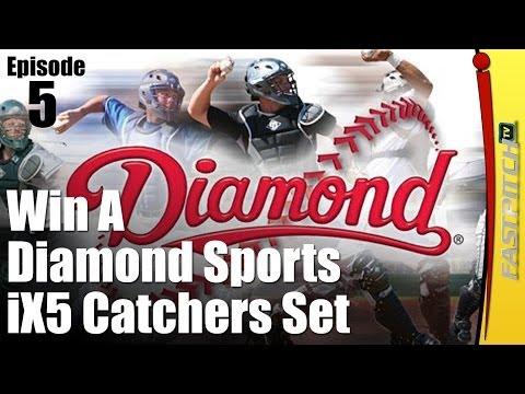 Win A Set Of Diamond iX5 Catchers Gear   Fastpitch TV