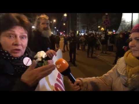 Dziennikarka ZDF UCIESZONA wysłuchuje kłamstw na temat reformy sądownictwa!