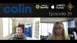 Colin Videos 39: Finding your courage and your freedom number with Linda McKissack