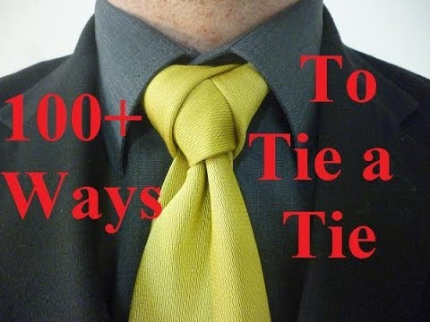 How to Tie a Tie Backwards Necktie Knot - YouTube