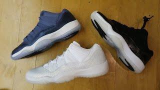 Air Jordan 11 Low GG Heiress,Baron & Blue Moon GS Retro Sneaker Detailed Reviews @DjDelz