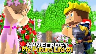 LITTLE DONNY PROPOSES TO LITTLE KELLY! - Minecraft Our Future Life   Roleplay