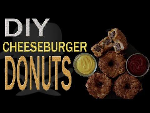 DIY Cheeseburger Donuts - [EPIC RECIPE]