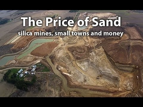 THE PRICE OF SAND: silica mines, small towns and money TRAILER