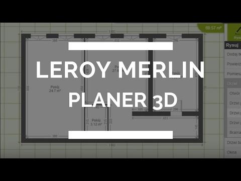 Rzut Mieszkania W Leroy Merlin Planer 3d Youtube