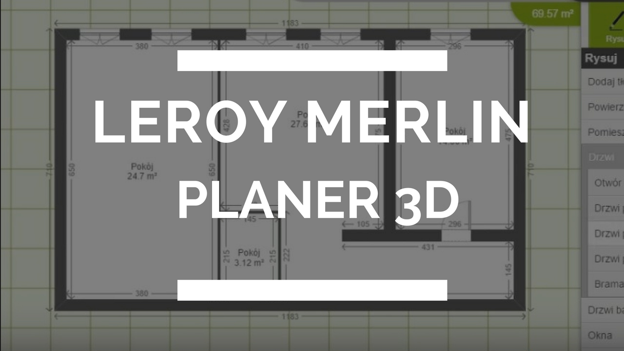 Rzut mieszkania w leroy merlin planer 3d youtube for Leroy merlin sdb 3d