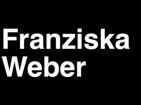 How to Pronounce Franziska Weber Germany Gold Medal Women's Kayak 500m London 2012 Olympics Video
