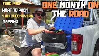 PREPARING FOR A 4WD AND CAMPING TRIP