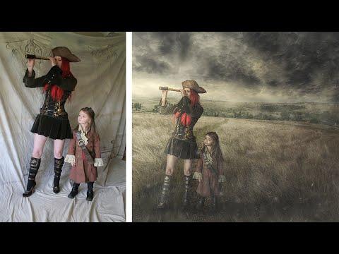 Photoshop CC Compositing & Manipulation Tutorial | Soft Light Effect