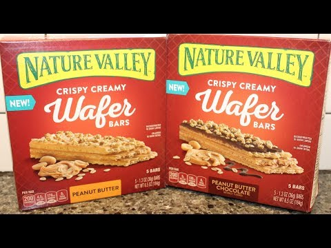 Nature Valley Crispy Creamy Wafer Bars: Peanut Butter & Peanut Butter Chocolate Review