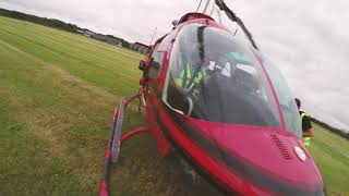 HELICOPTER  Shooting video from a helicopter 🎥