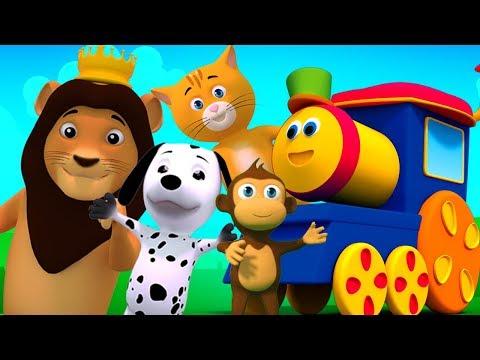 รถไฟขบวน | เด็กบ๊อง | ถ้าคุณมีความสุข | If You Are Happy Rhyme | Songs For Babies | Kids Tv Thailand
