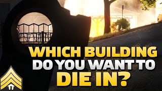 Which building do you want to die in? - Arma 3 Urban Combat