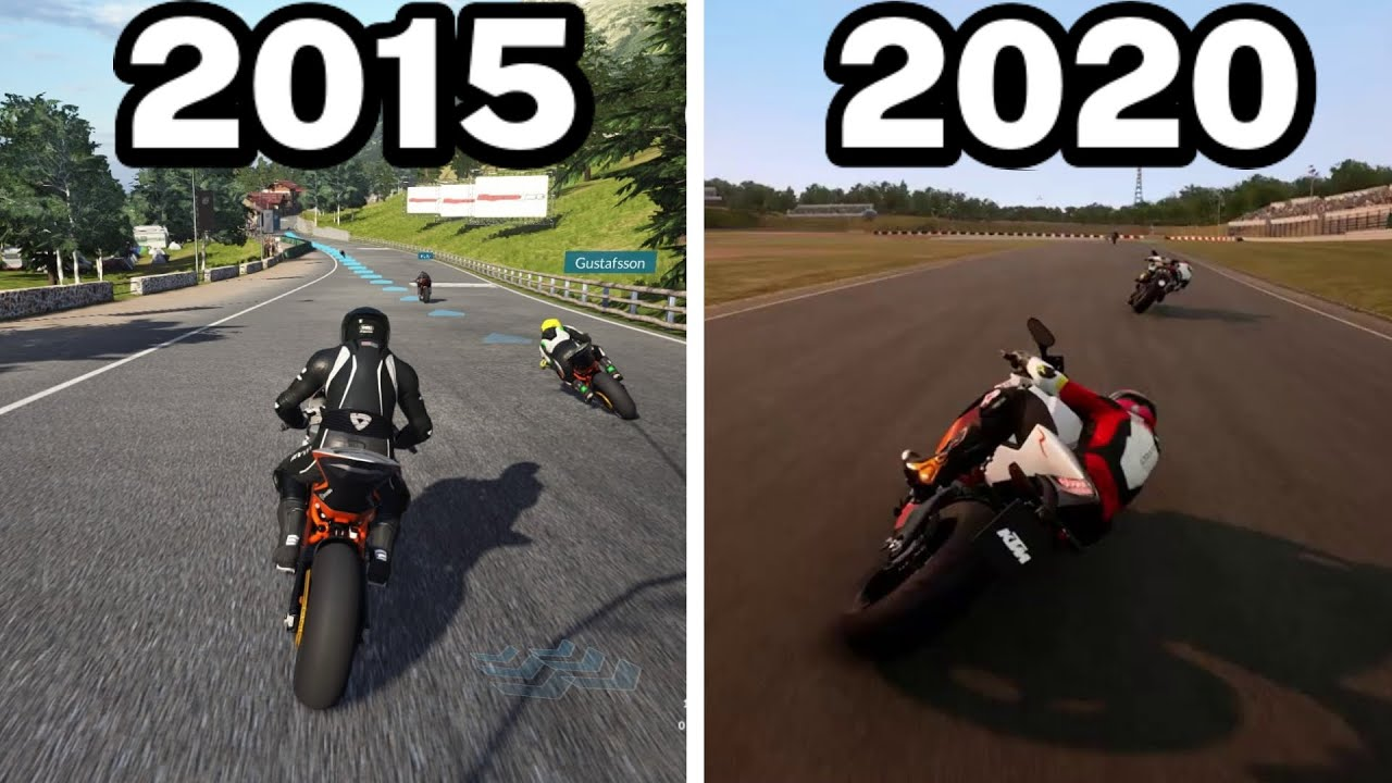 Graphical Evolution of Ride Games (2015-2020)