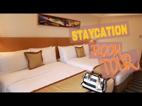 Staycation hotel ROOM TOUR | AJ Lizardo