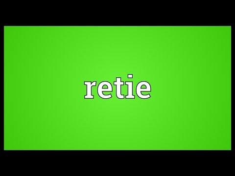 Header of retie