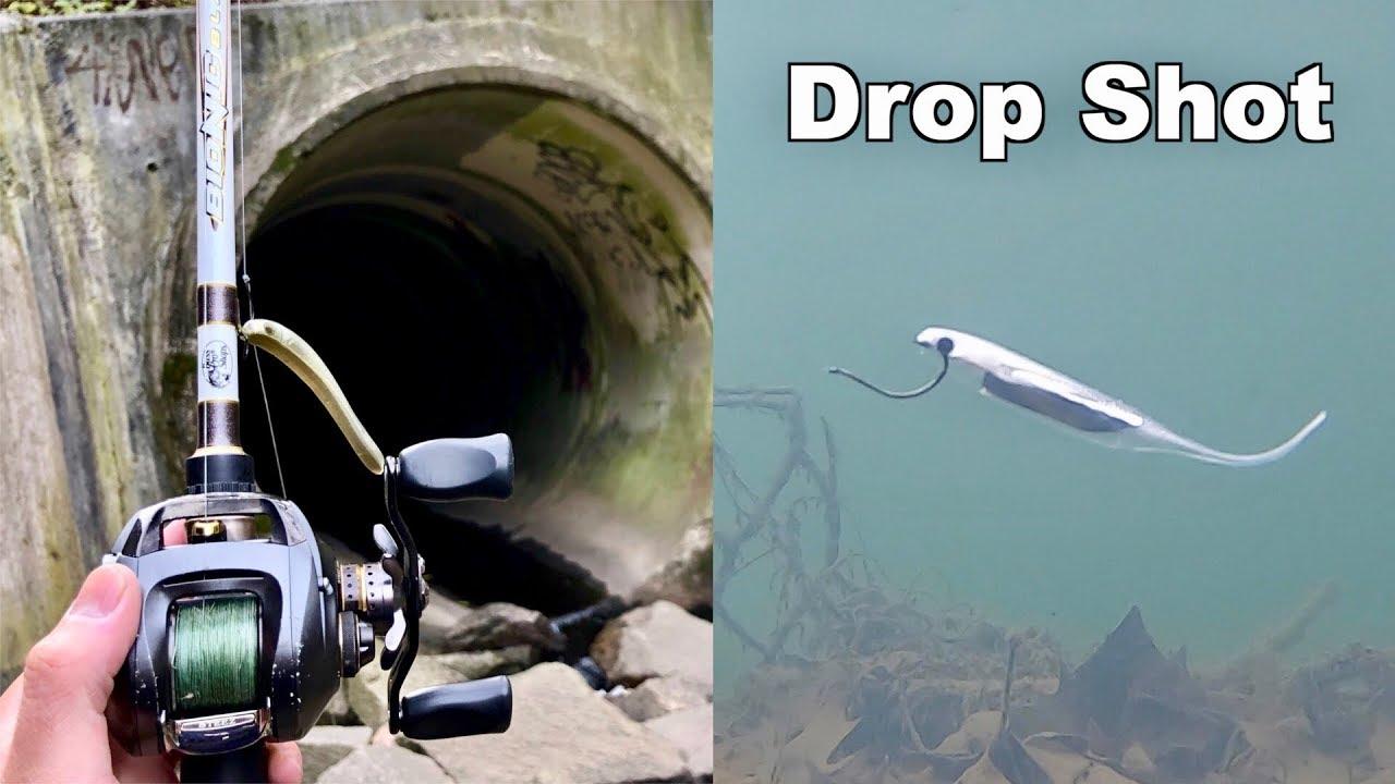WINTER FISHING MADNESS!!! (Underwater Drop Shotting)