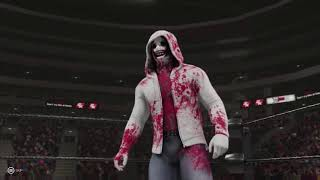 WWE2K19- Serial killer Fatel Four Way Extreme rules