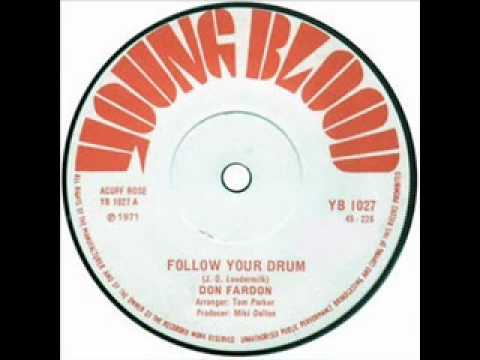 Don Fardon   Follow Your Drum
