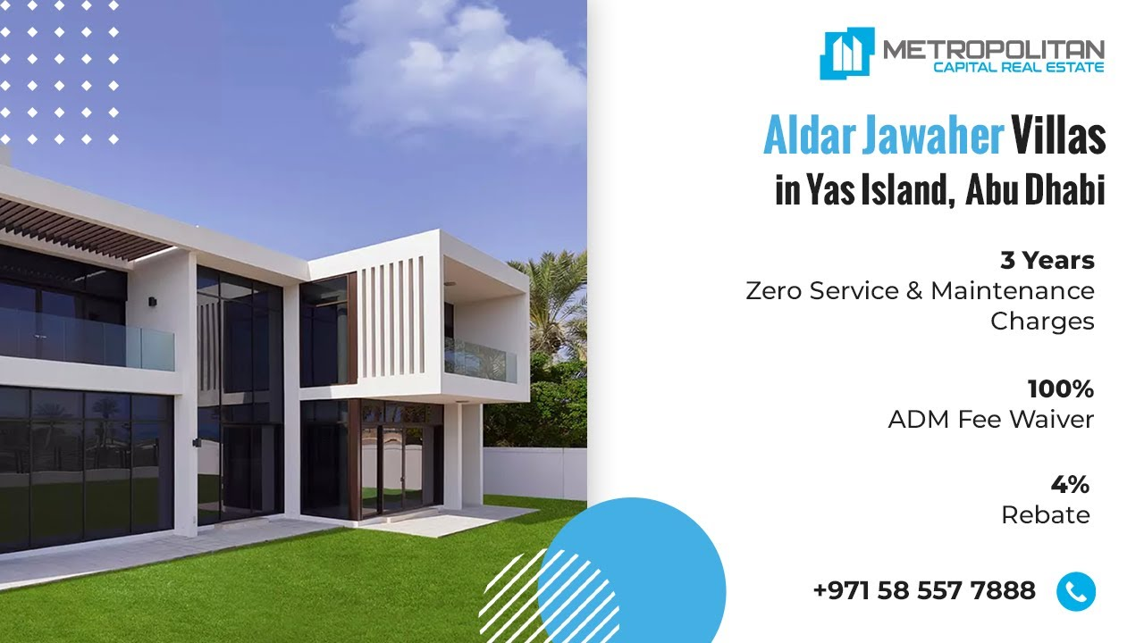 Overview of Aldar Jawaher Villas at Saadiyat Island, Abu Dhabi