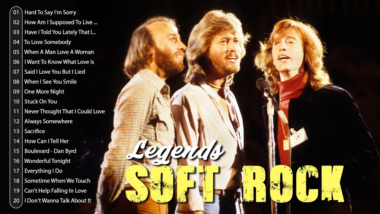 Download Bee Gees, Rod Stewart, Air Supply, Michael Bolton, Lobo... 🌿 Soft Rock Hits Of The 60s 70s 80s