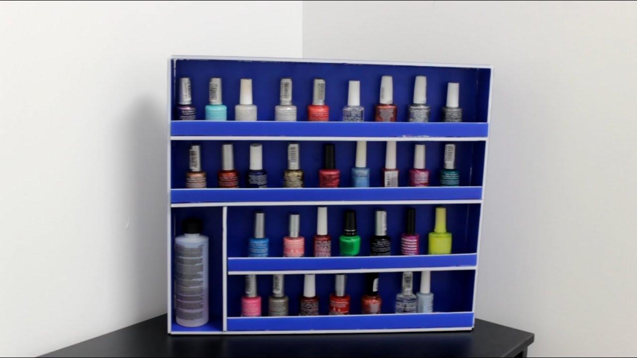 Organizador de esmaltes ideas para organizar tu cuarto - Ideas para organizar tu casa ...