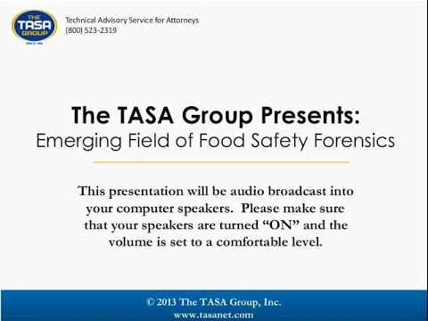 Emerging Field of Food Safety Forensics