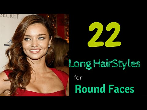 22 long hairstyles for round faces