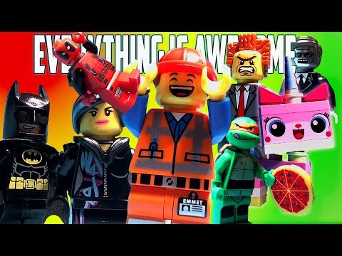 Everything is Awesome The Lego Movie Music Video