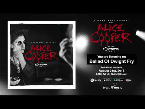 "Alice Cooper ""Ballad Of Dwight Fry"" Live at the Olympia in Paris - Album out August 31st Mp3"
