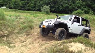 "2012 Jeep JK ""SILVER BULLET"" hitting the lil nasty at Wrang"